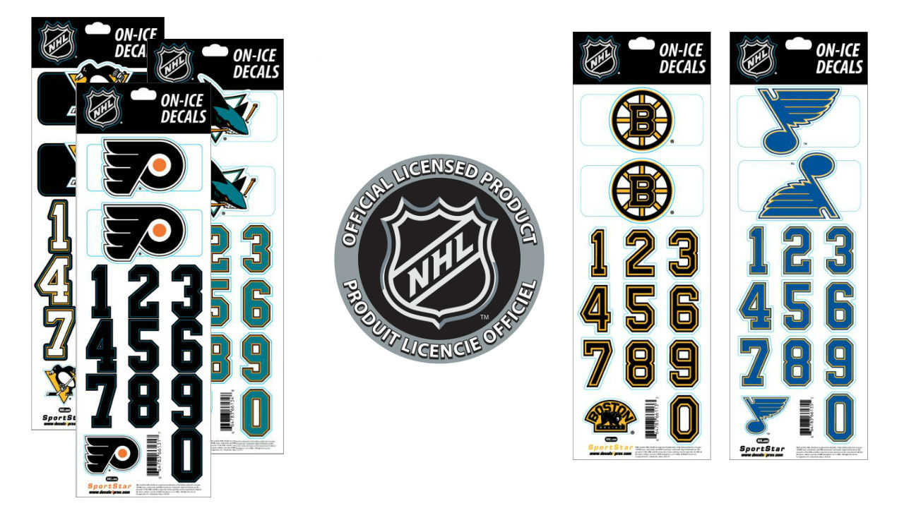 NHL Decals