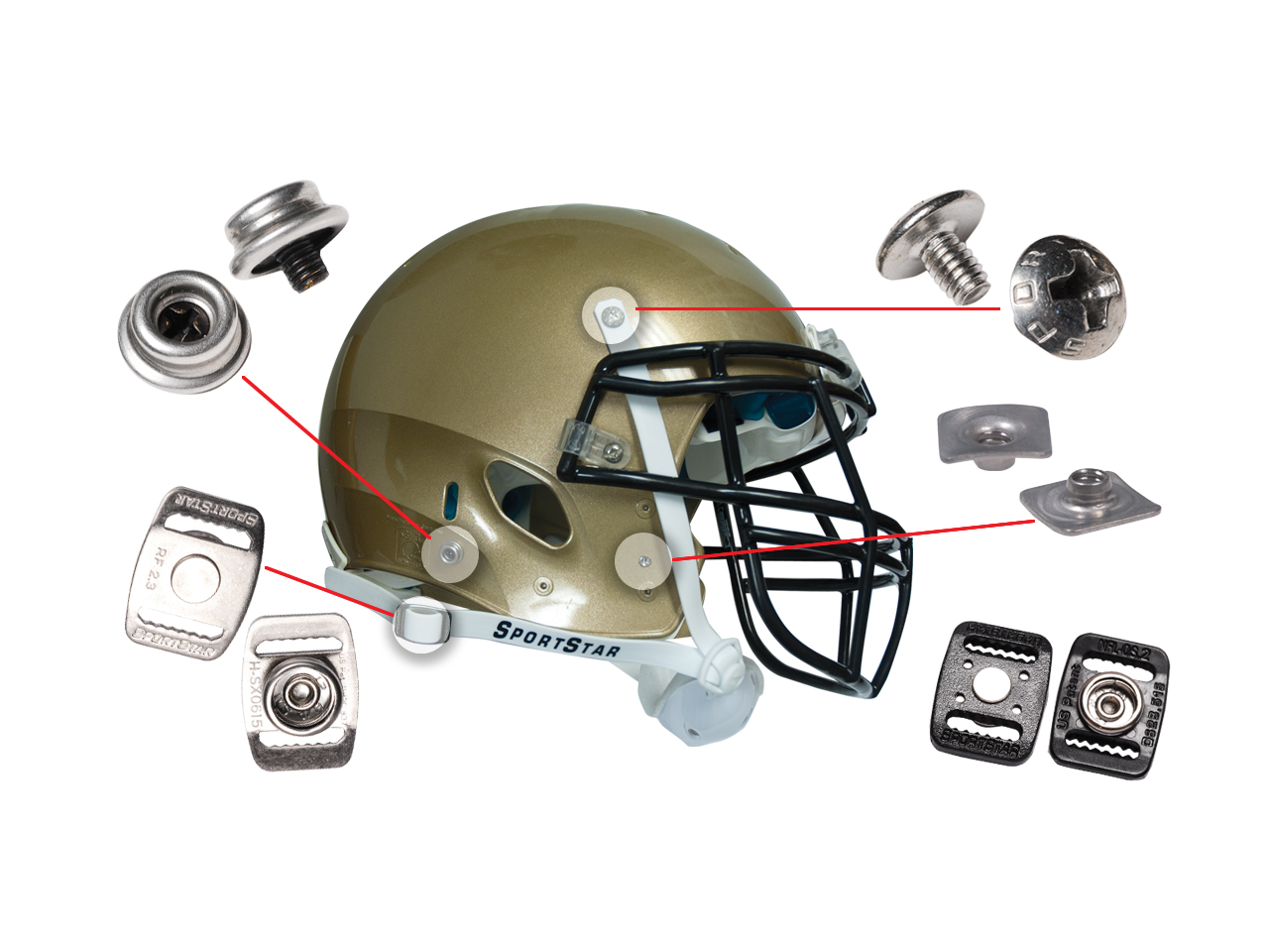 Helmet Hardware