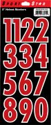 "2"" Numbers — Red"