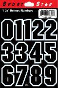 """1 1/2"""" Block Numbers — Black"""