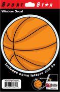 Window Decal Basketball