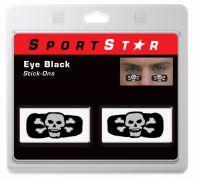 Eye Black Decals Skull