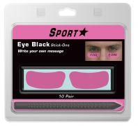 Pink Cancer Awareness Eye Black with Marker