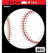 Car Magnet Baseball