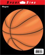 Car Magnet Basketball
