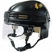 Chicago Blackhawks Mini Helmet — Black