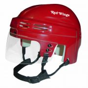 Detroit Red Wings Mini Helmet — Red