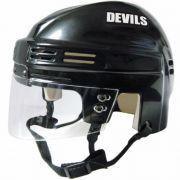 New Jersey Devils Mini Helmet — Black