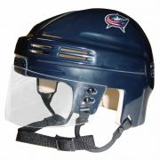 Columbus Blue Jackets Mini Helmet — Navy