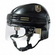 Vegas Golden Knights Mini Helmet — Black