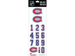NHL Montreal Canadiens Decals