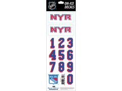 NHL New York Rangers Decals