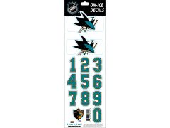 NHL San Jose Sharks Decals