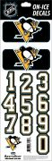 NHL Pittsburgh Penguins Decals - Black