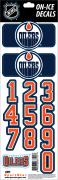 NHL Edmonton Oilers Decals — Navy