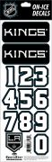NHL Los Angeles Kings Decals - Black