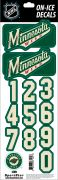 NHL Minnesota Wild Decals - Alt
