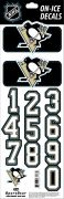 NHL Pittsburgh Penguins Decals - Black (Retro)