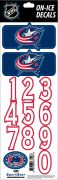 NHL Columbus Blue Jackets Decals - Navy