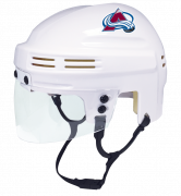 Colorado Avalanche Mini Helmet — White