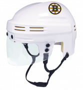 Boston Bruins Mini Helmet — White