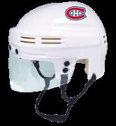 Montreal Canadiens Mini Helmet — White