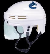 Vancouver Canucks Mini Helmet — White