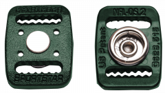 NFL-OS Hybrid Buckles—Dark Green