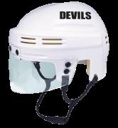 New Jersey Devils Mini Helmet — White