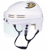 Anaheim Ducks Mini Helmet — White