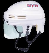 New York Rangers Mini Helmet — White