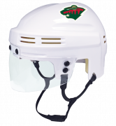 Minnesota Wild Mini Helmet — White
