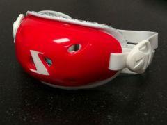 X1 - Large/X-Large - Evolution Gel Chinstrap - Scarlet Red