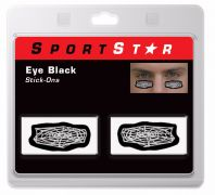 Eye Black Decals Spider Web