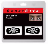 Eye Black Decals Skull