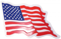3D USA Flag—Waving