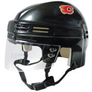 Calgary Flames Mini Helmet — Black