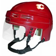 Calgary Flames Mini Helmet — Red