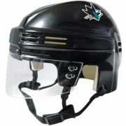 San Jose Sharks Mini Helmet — Black