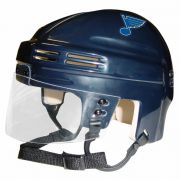 St. Louis Blues Mini Helmet — Navy