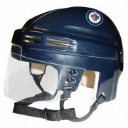 Winnipeg Jets Mini Helmet — Navy