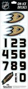 NHL Anaheim Ducks Decals — White Helmet (Retro)