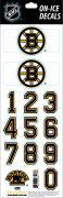 NHL Boston Bruins Decals