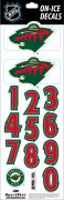 NHL Minnesota Wild Decals