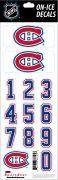 NHL Montreal Canadiens Decals — White Helmet (Retro)