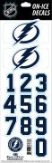 NHL Tampa Bay Lightning Decals — White Helmet (Retro)