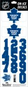 NHL Toronto Maple Leafs Decals — White Helmet (Retro)
