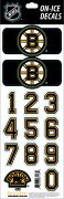 NHL Boston Bruins Decals — Black