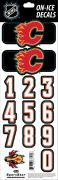 NHL Calgary Flames Decals — Black