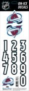 NHL Colorado Avalanche Decals — Black